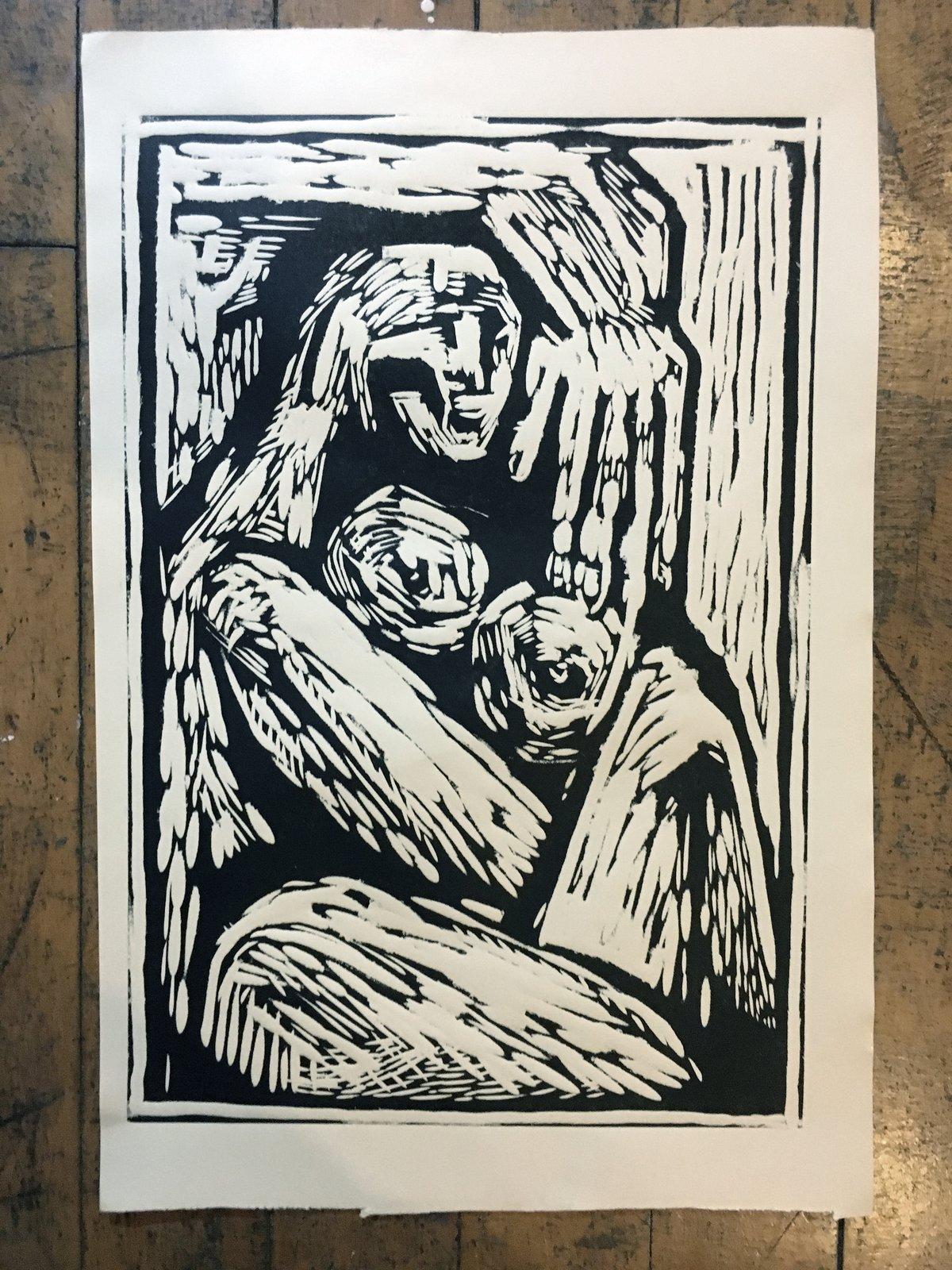 Image of Woodcut print