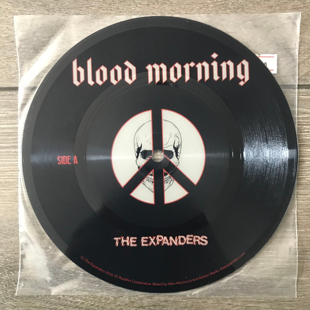 Image of The Expanders - Blood Morning Vinyl 7""