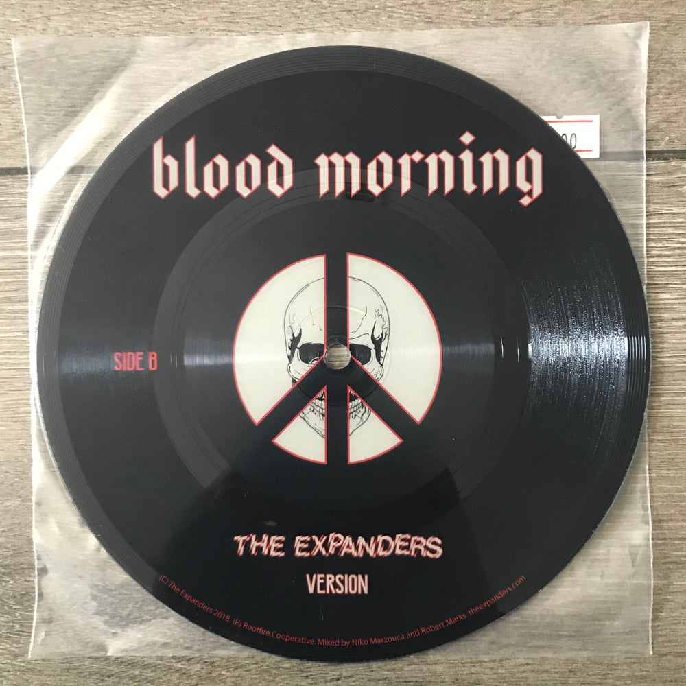 """Image of The Expanders - Blood Morning Vinyl 7"""""""