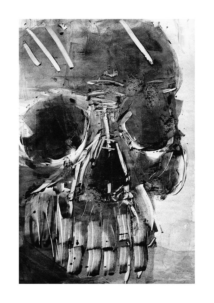 Image of Skull monotype