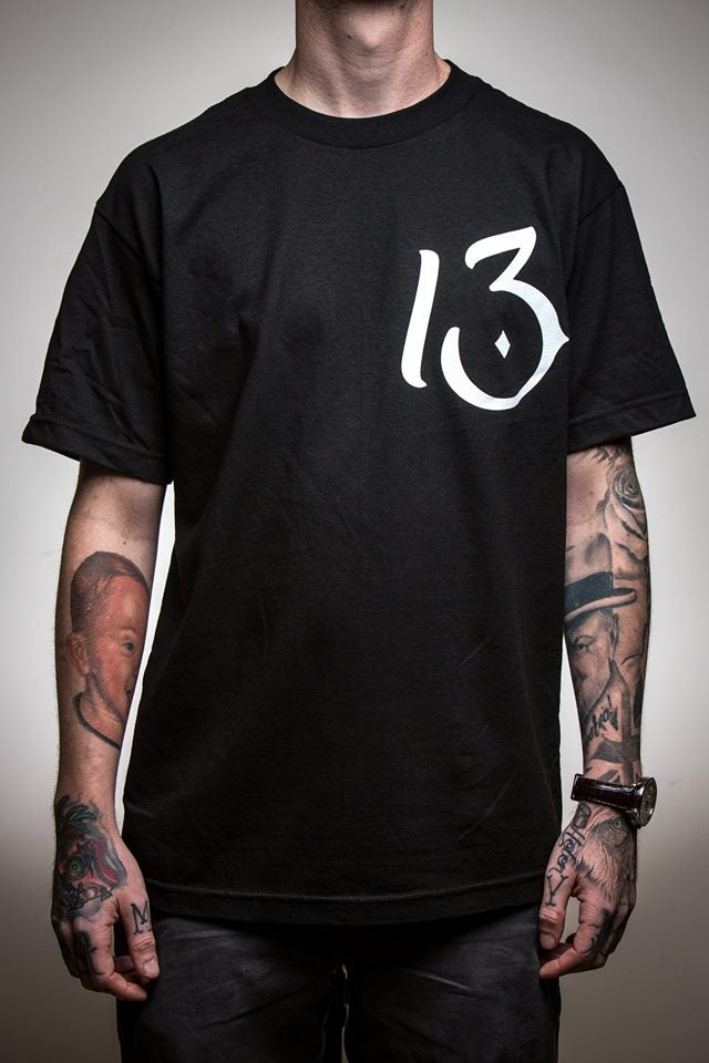Image of PRE-ORDER Classic 13 Chest Print T-Shirt