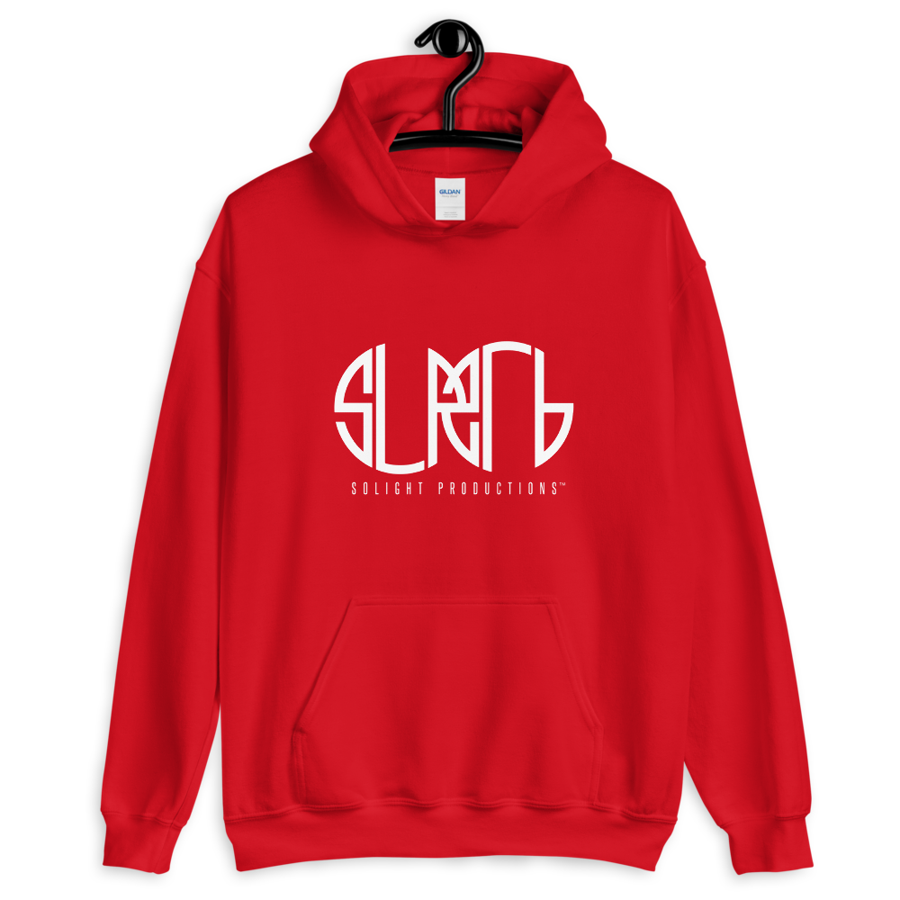 Image of Red Solight Hoodie
