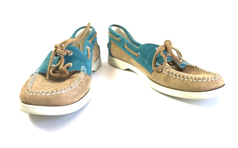 Image of Chanel Size 40 Boat Shoes 736-259