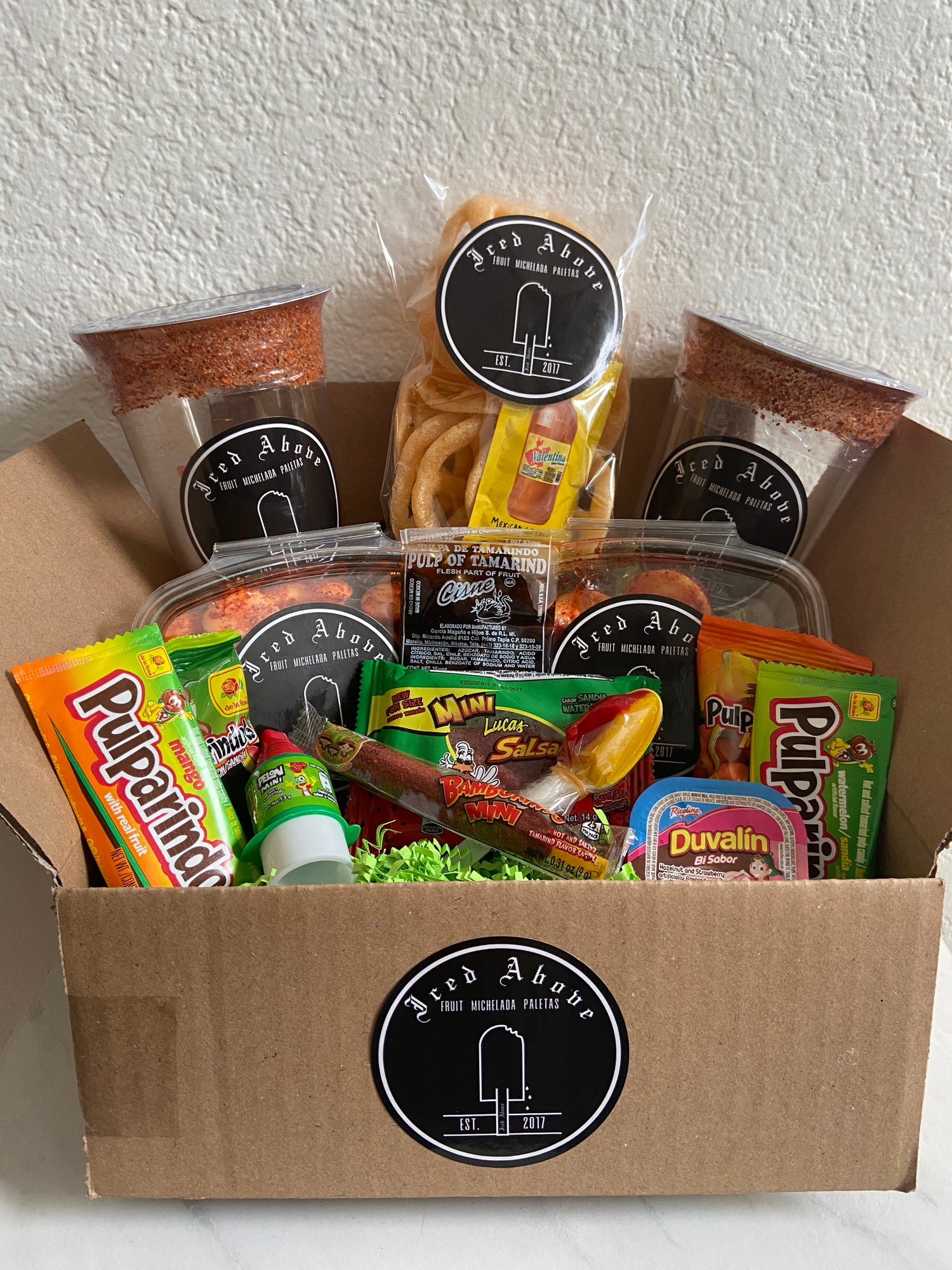 Image of Iced Above Snack Attack Box