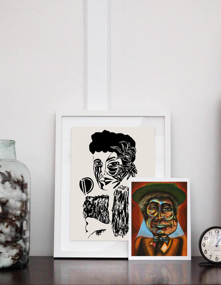 Image of Louis Armstrong Giclée Print