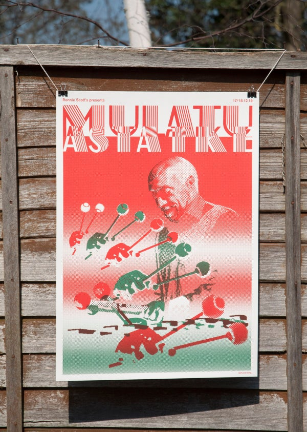 Image of Mulatu Astatke - A2 Screenprints