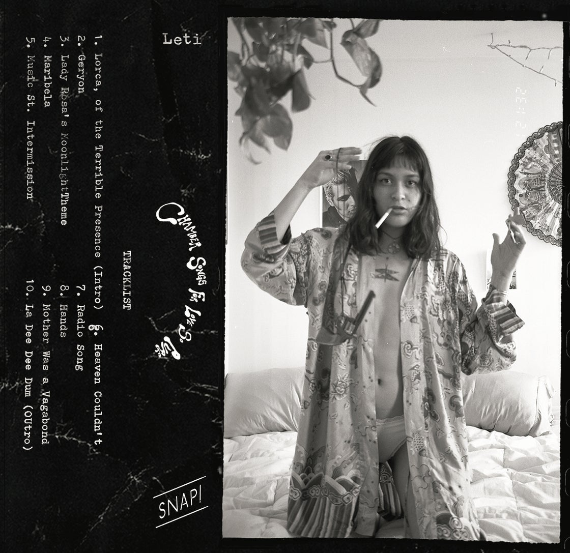 Image of Snap! VI: Leti - Chamber Songs for Love So Pure (tape + fanzine)