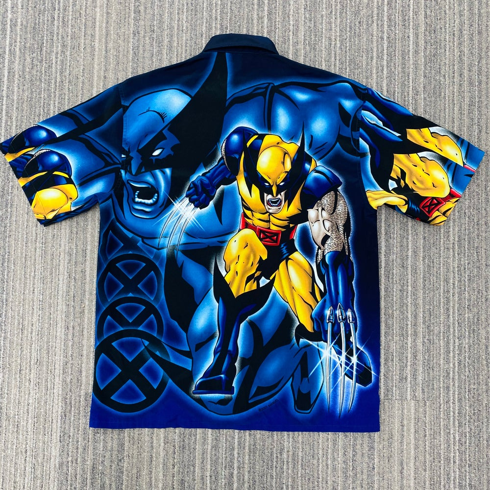 Image of 2001 Wolverine Graphic Button Down