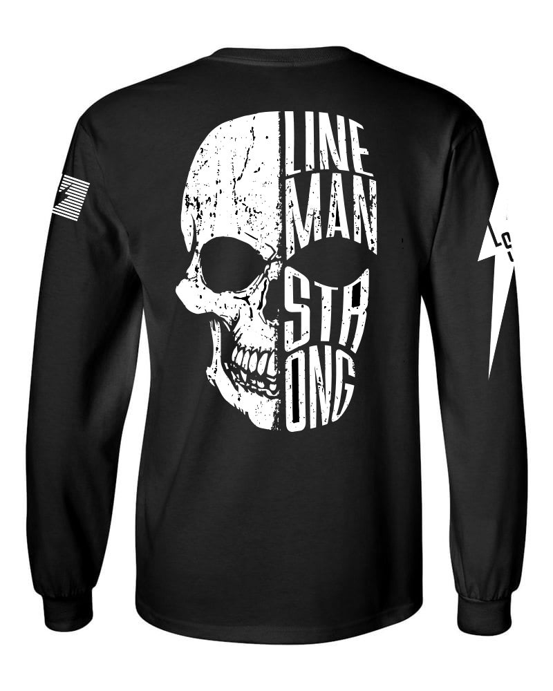 Image of Lineman Skull Divide - Long Sleeve