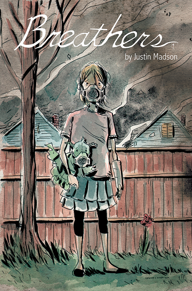 Image of BREATHERS #1 (Jeff Lemire & Matt Kindt variant cover)