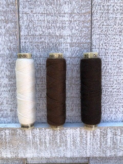 Image of Ellana Wool Thread EN50, EN51, EN52
