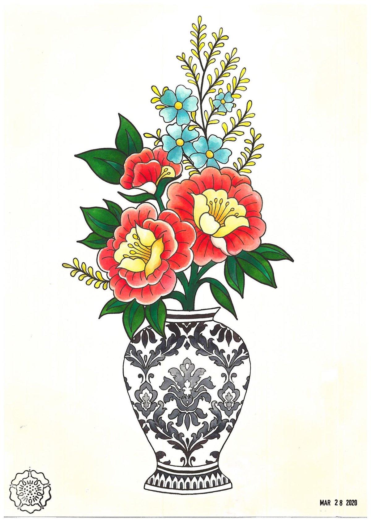 Flower Vase Prints