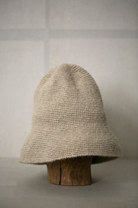 Image of Bell hat in linen by Lauren Manoogian