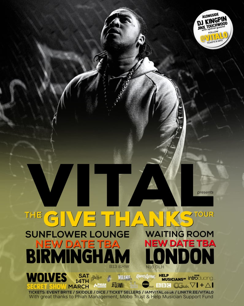 Image of VITAL's - The Give Thanks Tour 2020