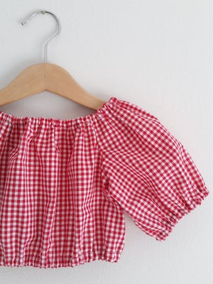 Image of SALE Dream Top - Gingham