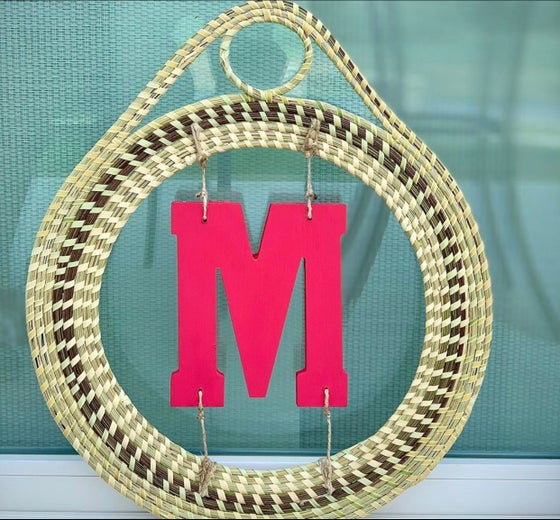 "Image of ""Monogram"" Large Door Wreath"