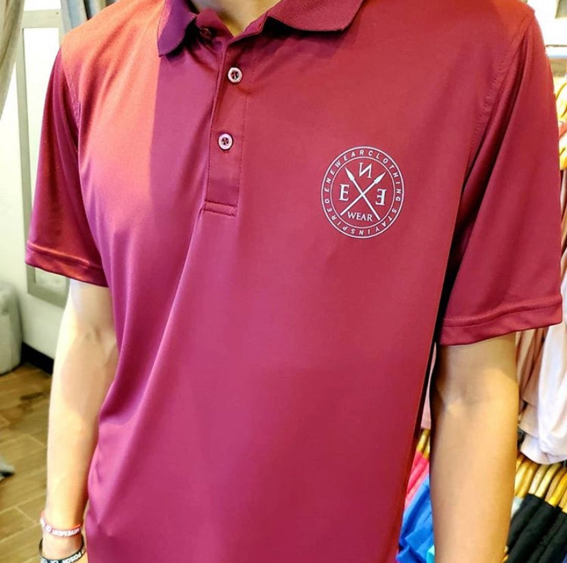 Image of STAY INSPIRED POLO