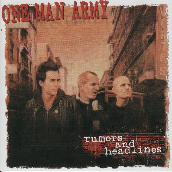 Image of One Man Army - Rumors and Headlines LP