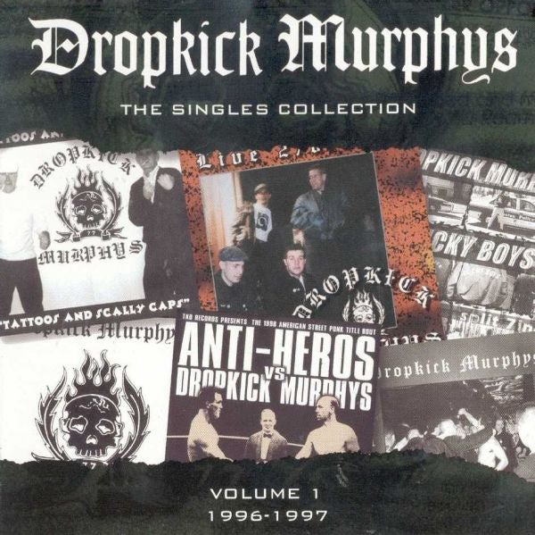 Image of Dropkick Murphys - Singles Collection 2xLP (green vinyl)