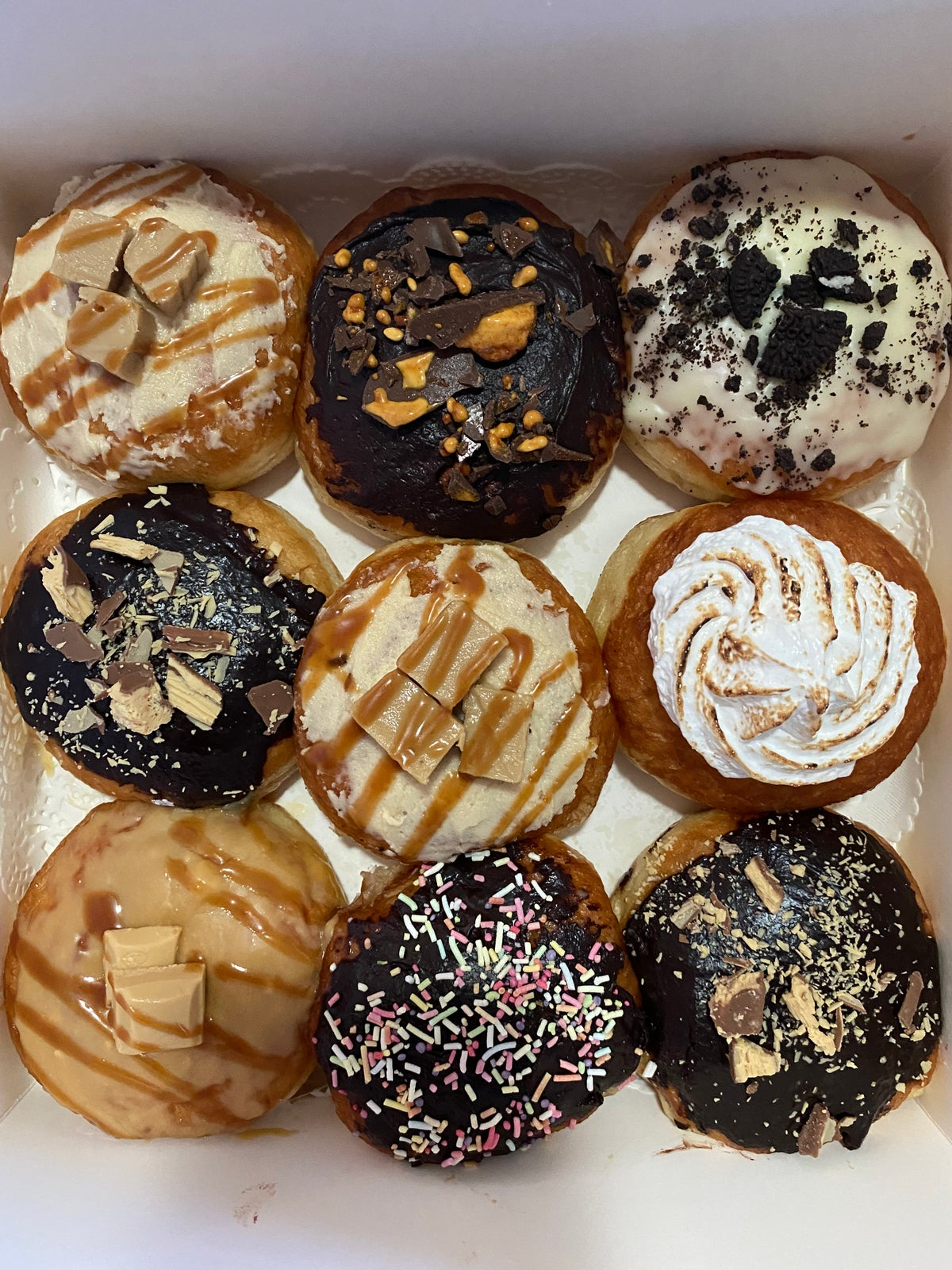 Image of 9 Specialty Doughnuts