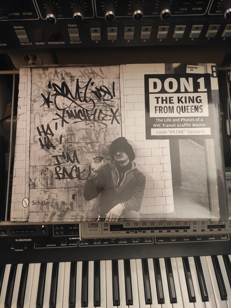Image of Don1, The King from Queens: The Life and Photos of a NYC Transit Graffiti Master