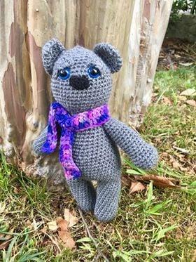 Retro Nanna Teddy Bear Crochet Pattern