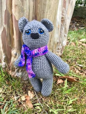 Image of Retro Nanna Teddy Bear Crochet Pattern
