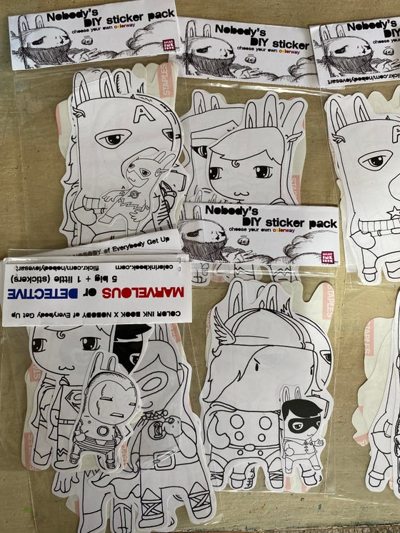 Image of DIY Sticker pack
