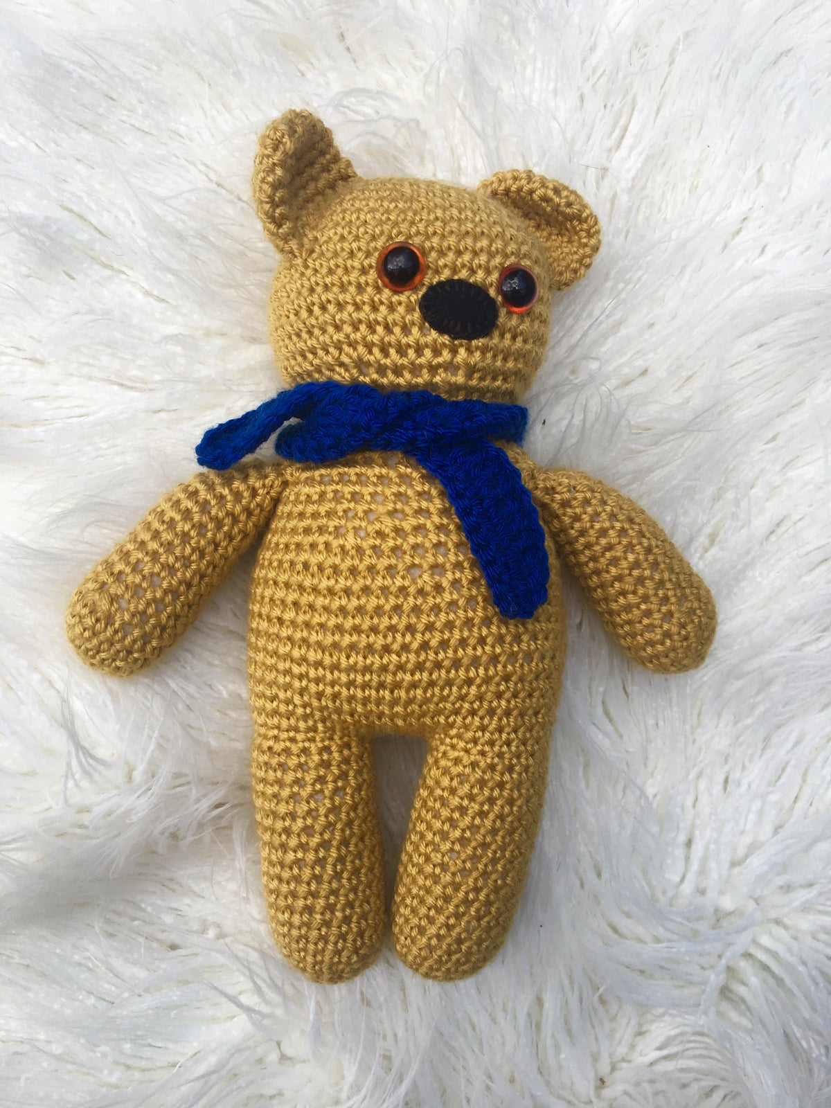 Retro Nanna Teddy Bear Kits 1 (Pattern sold in this Store)
