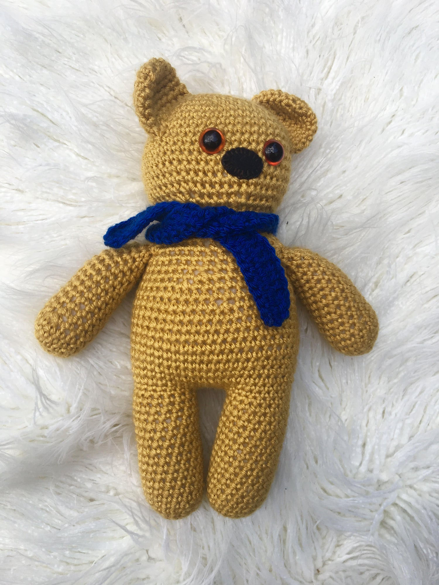 Image of Retro Nanna Teddy Bear Kits 1 (Pattern sold in this Store)