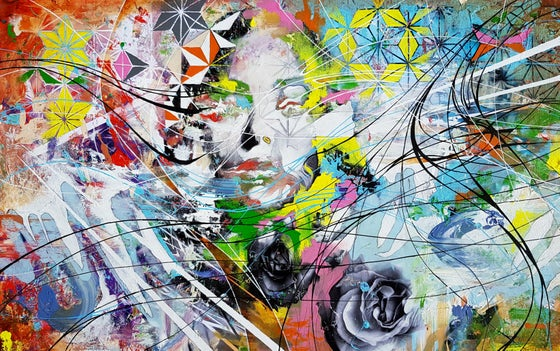 Image of A Distorted Sense of Reality- SIGNED OPEN EDITION PRINT- FREE WORLDWIDE SHIPPING
