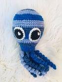 Retro Nanna Calamari the Octopus Pattern (only)