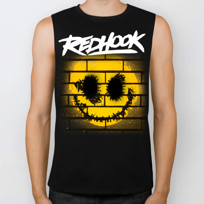 Image of LOW STOCK - RedHook 'Smile' Singlet