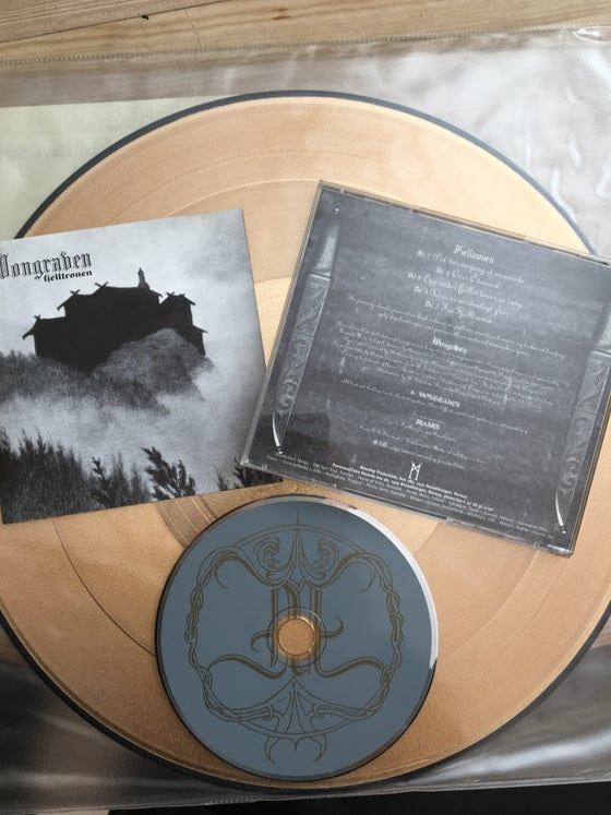 Image of Wongraven original cd Gold