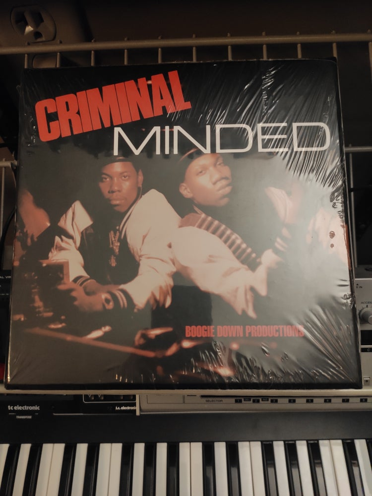 "Image of Boogie Down Productions ‎– Criminal Minded 7"" Box Set"