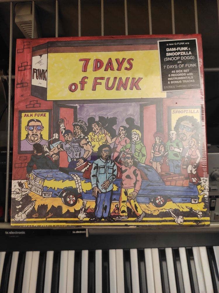 "Image of 7 Days Of Funk ‎– 7 Days Of Funk 7"" Box Set"