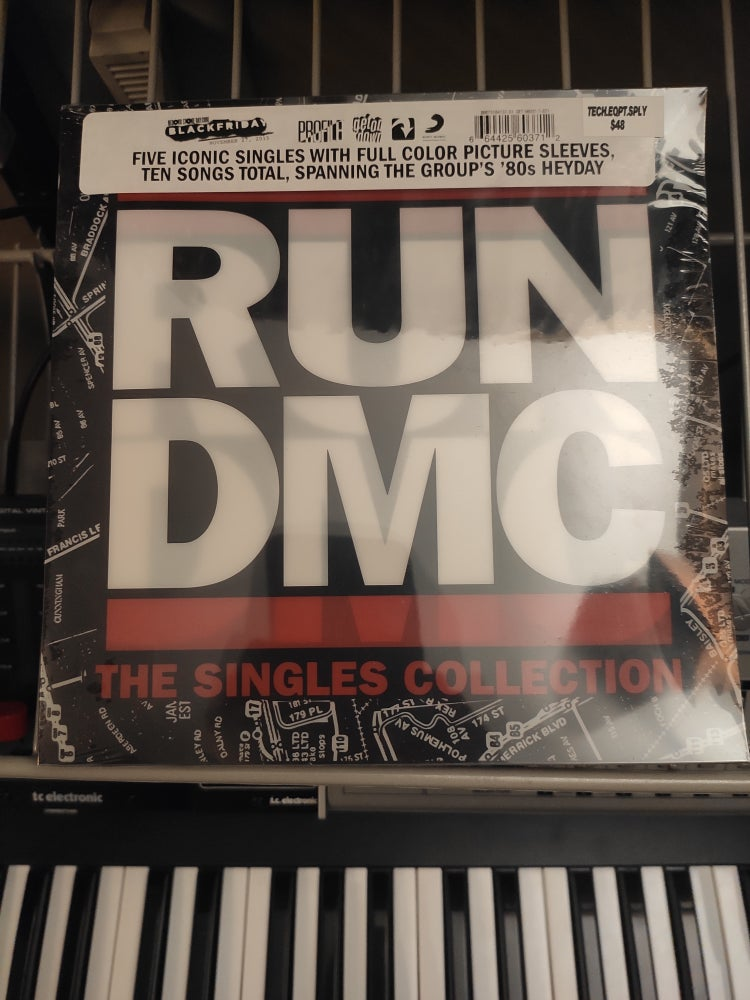 Image of Run-DMC ‎– The Singles Collection