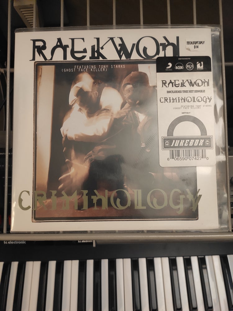 Image of Raekwon Featuring Tony Starks, Ghost Face Killer ‎– Criminology