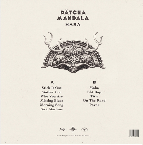 Image of DÄTCHA MANDALA VINYL ALBUM HARA