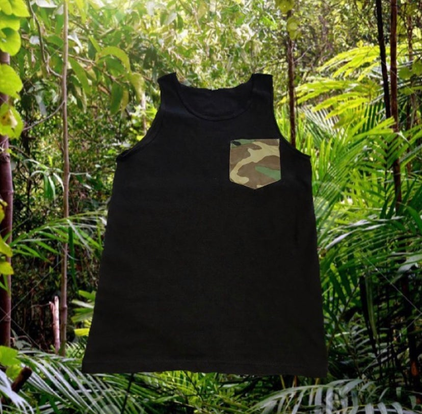 Image of POCKET CAMO TANK