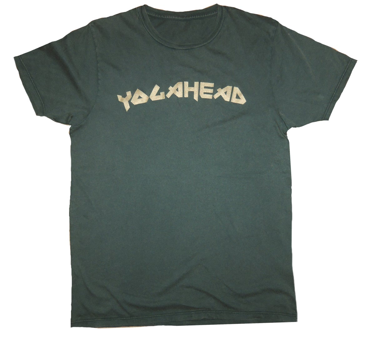 Recycled YogaHead T-shirt Gold/Khaki