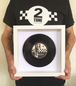 "Image of Framed original 7"" Vinyl"