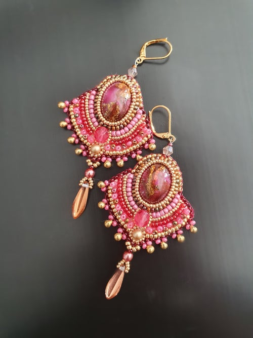Image of Boucles d'oreilles MADININA