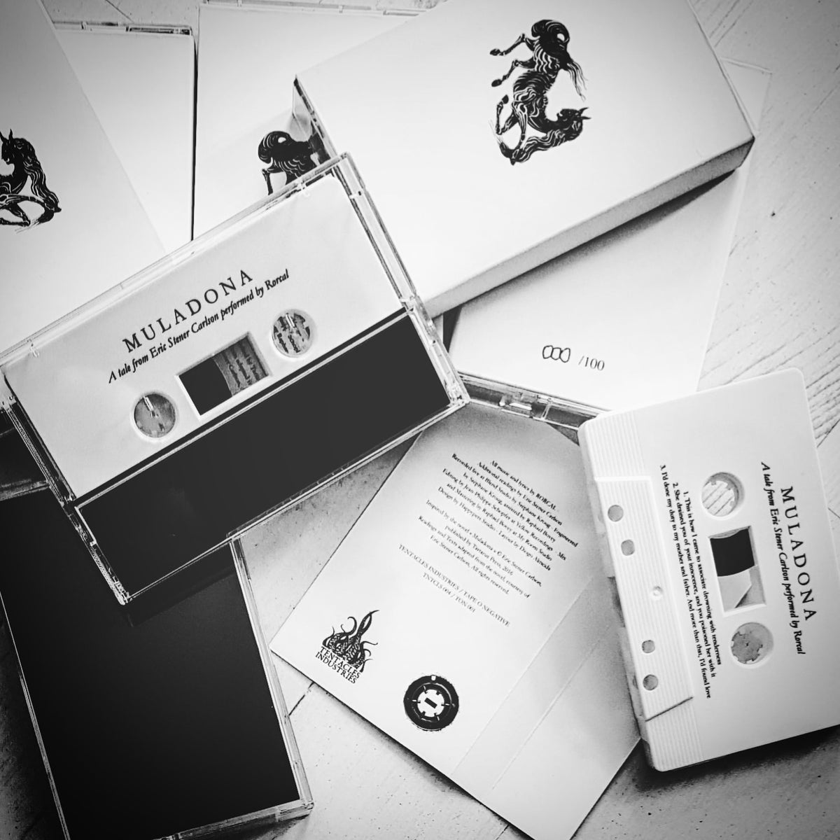 "TNTCLS 004 - RORCAL - ""Muladona"" - Ltd Cassette"