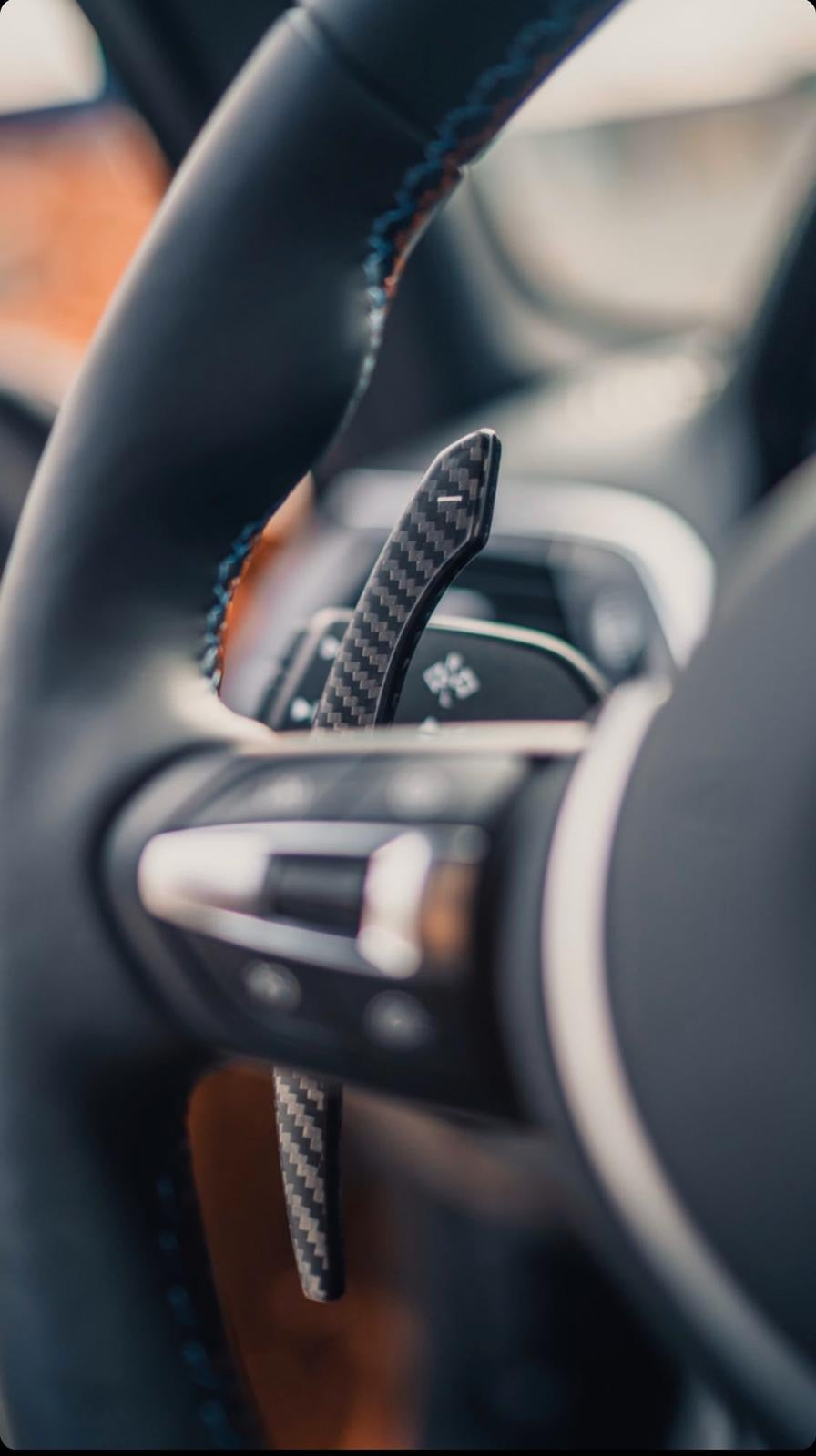 Image of BMW Carbon Paddle Shiffters