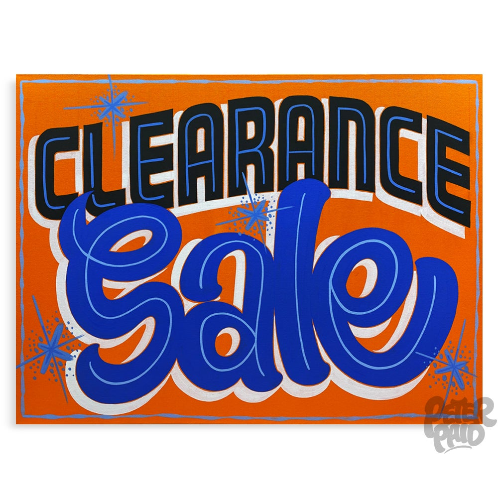 Image of Clearance Sale