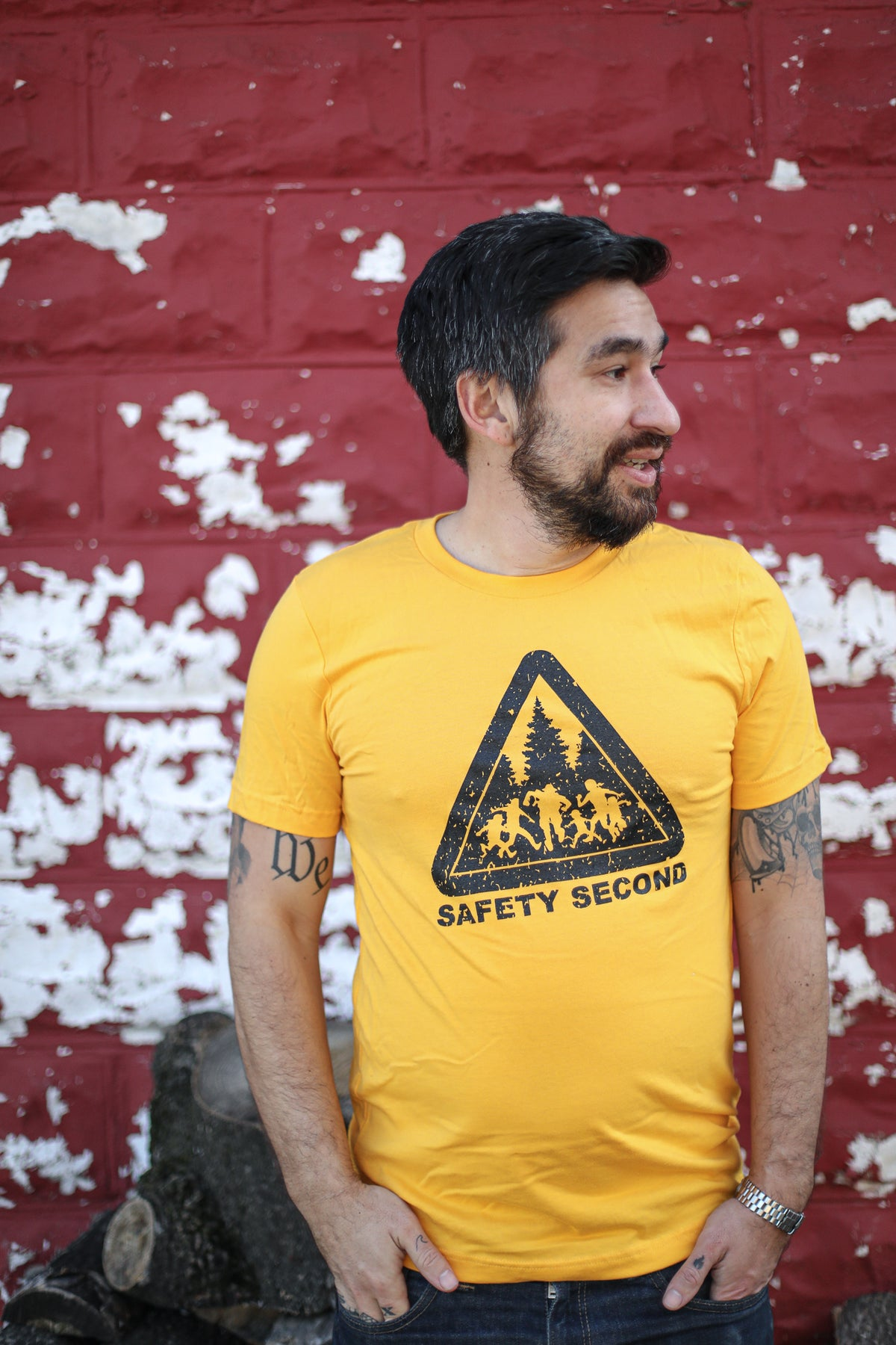 Image of Safety Second T-shirt