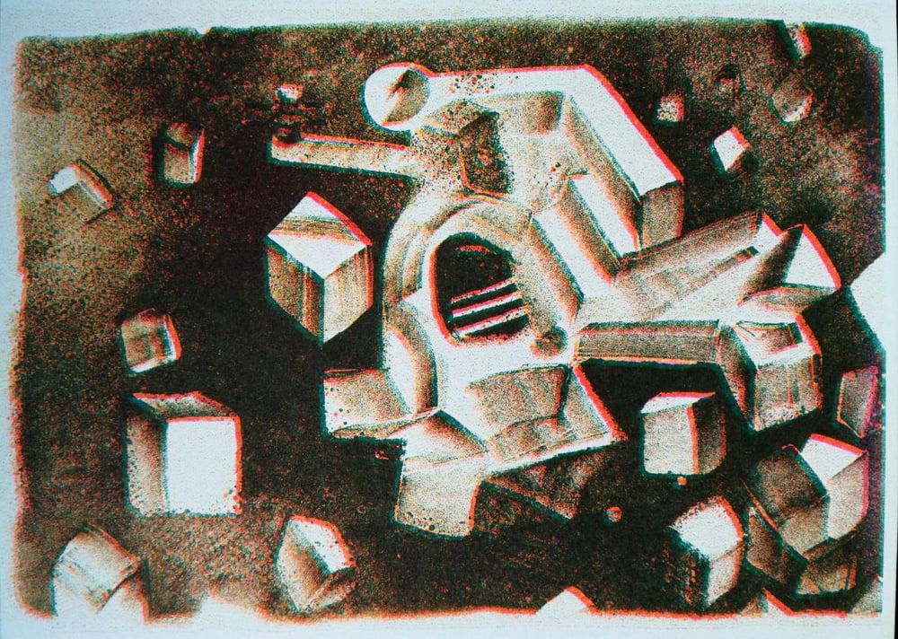 "Image of Risoprint ""Das Ungetüm.pdf"""