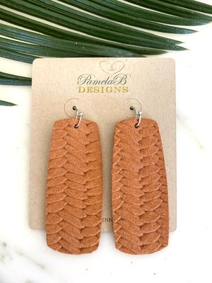 The Joanna Leather Earring