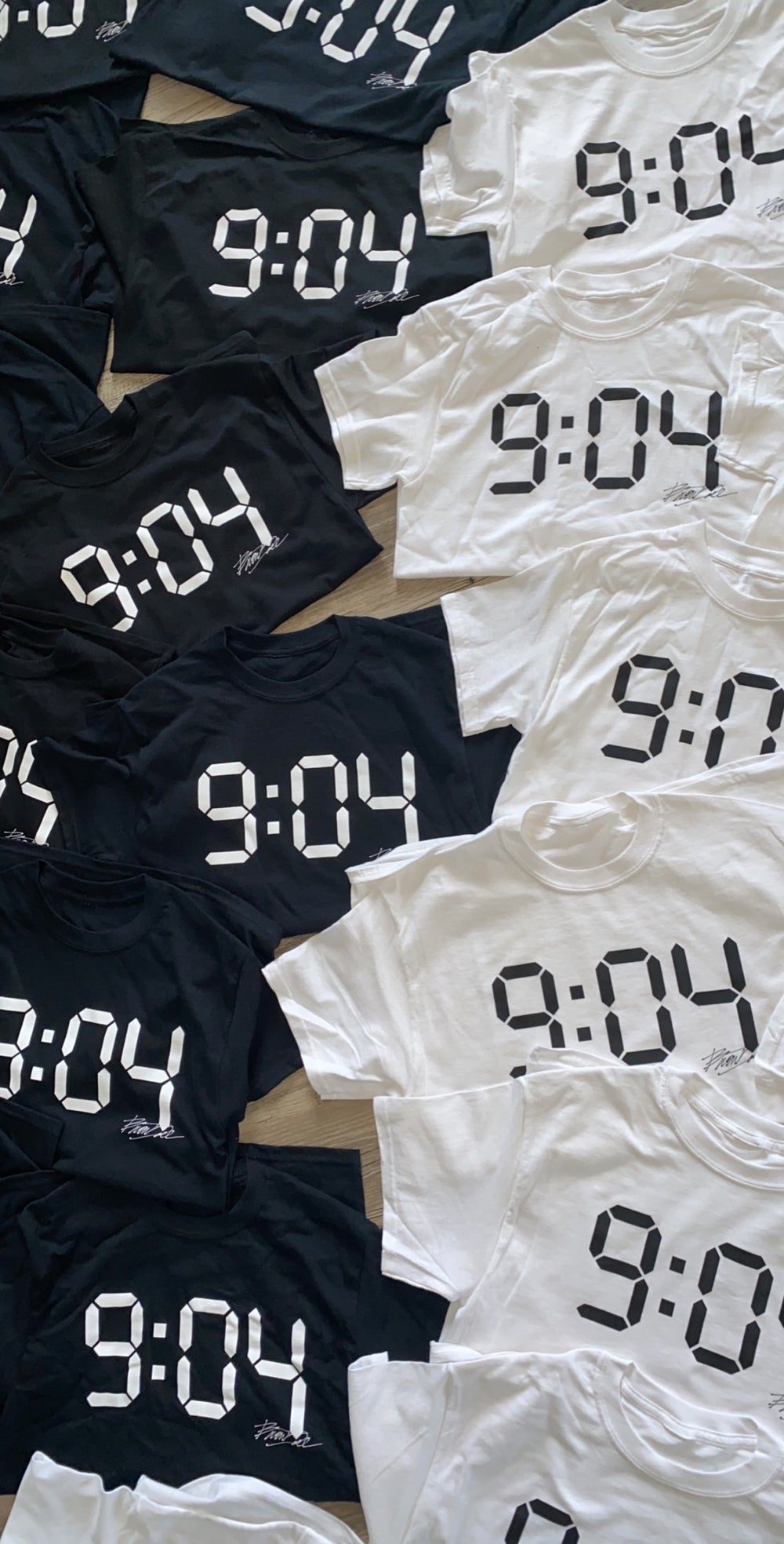 Image of 9:04 Tee (Black or White)